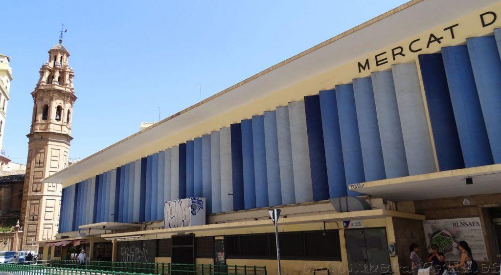 Mercat de Russafa, Valencia