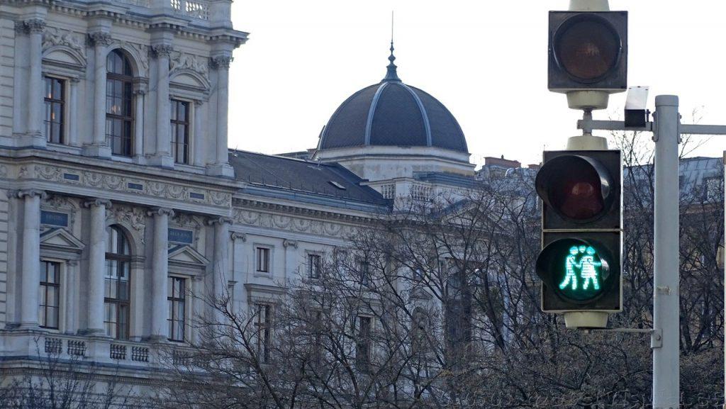 Semaforos de Viena, Austria