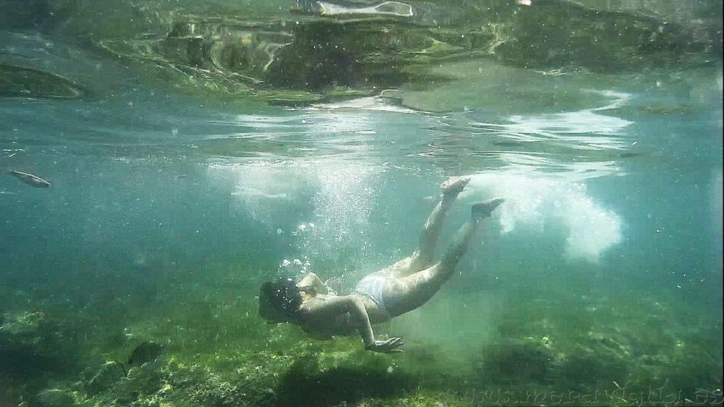 Hacer snorkel en Tabarca