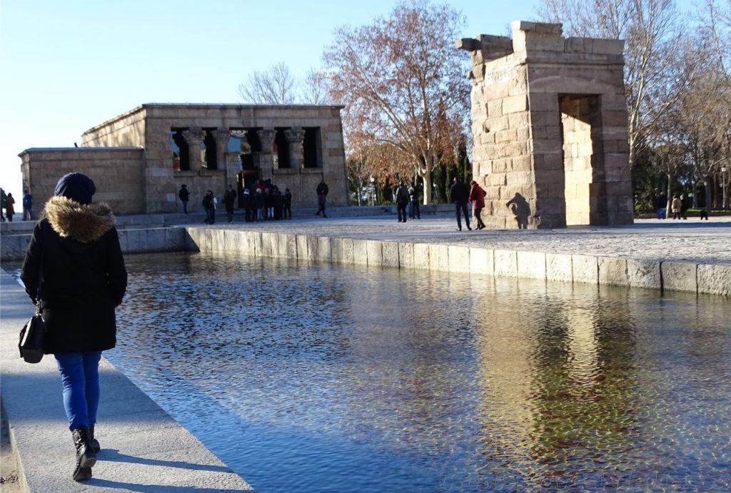 Templo egipcio en Madrid
