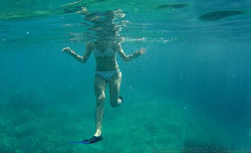 como hacer snorkel