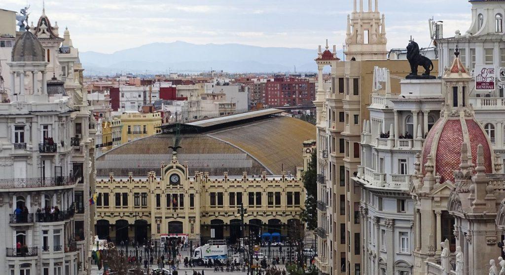 Estacion de tren, Valencia