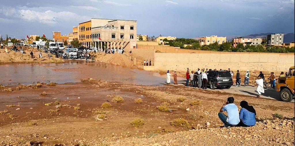 estado carreteras en Marruecos