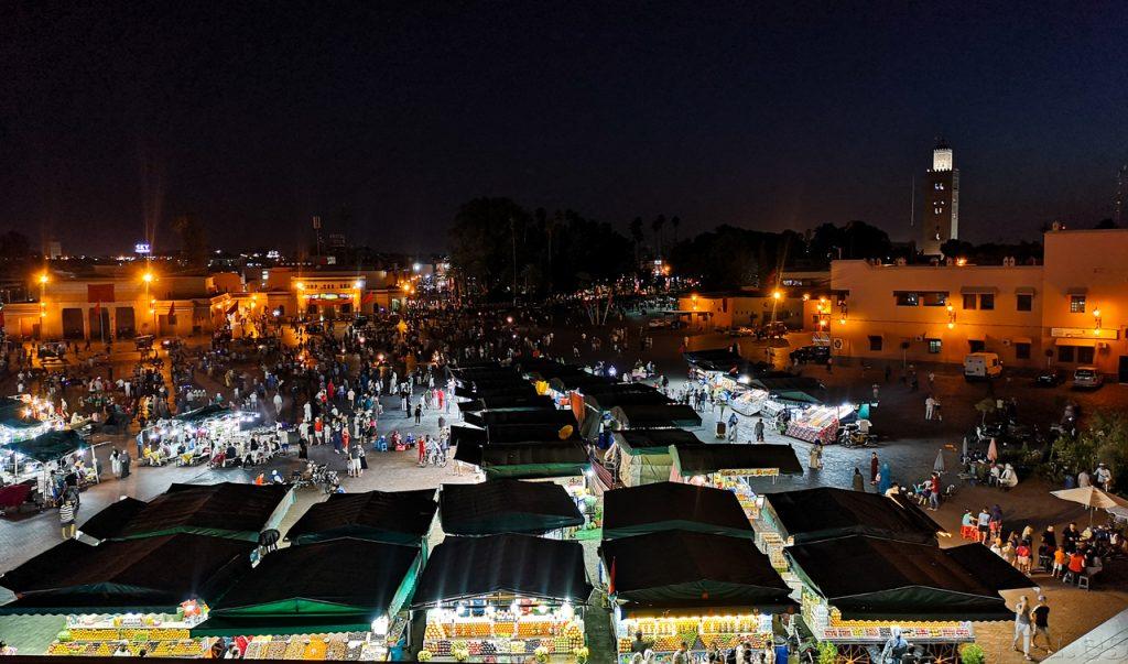 Jemaa Le Fna, Marrakech