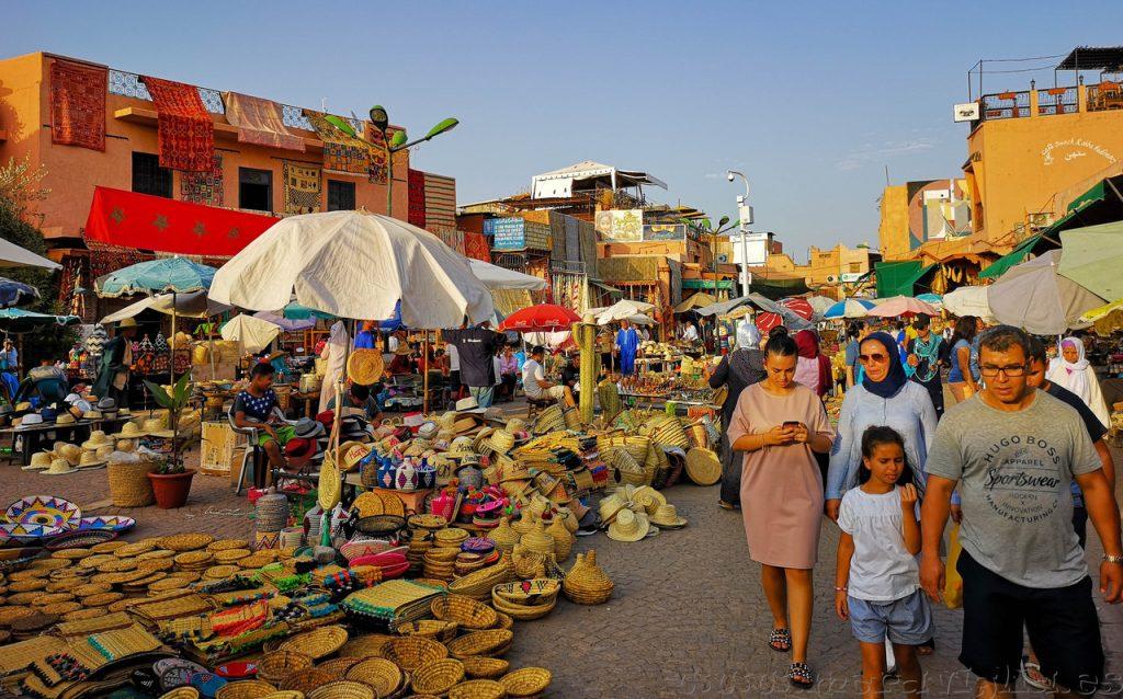 Plaza Especias, Marrakech