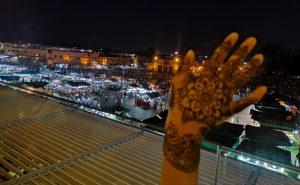 Dónde hacerse un tatuaje de henna en Marrakech