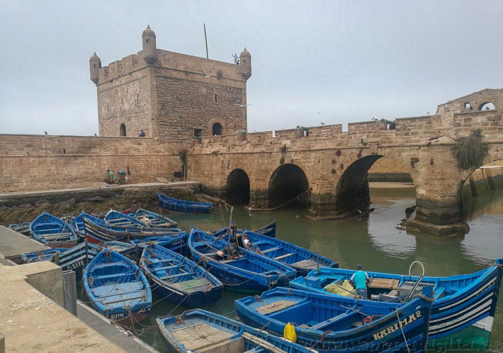 Barcas Essaouira