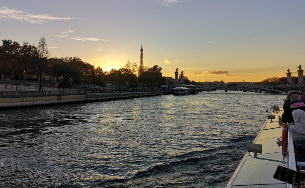 Atardecer Sena Paris