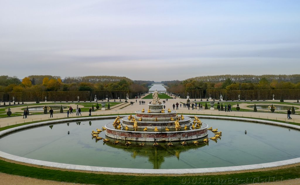 Jardín de Versalles, Francia