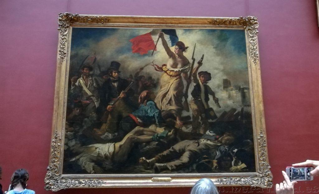 Cuadro Delacroix Louvre