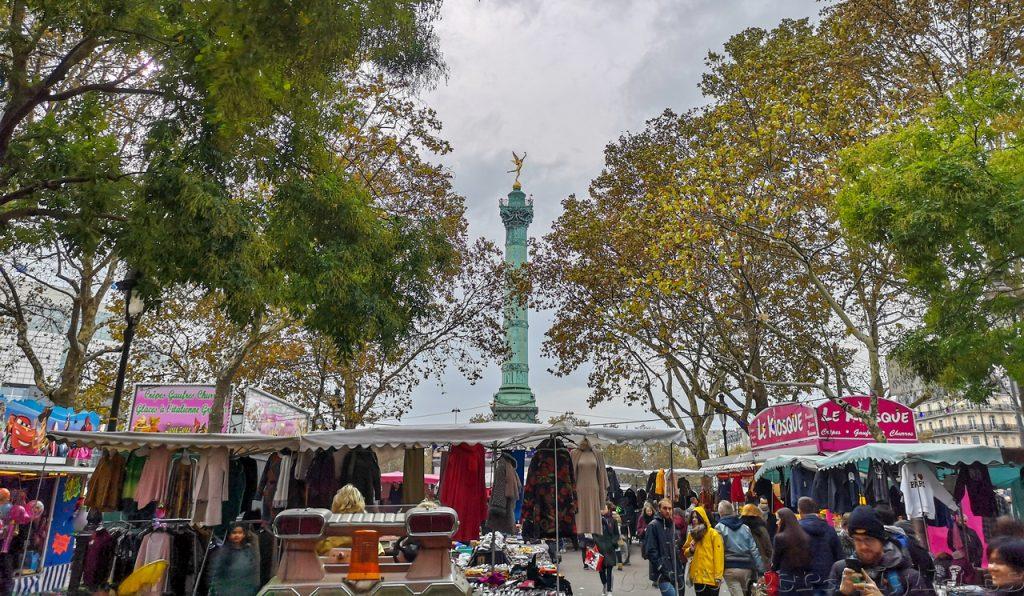Mercado callejero Paris