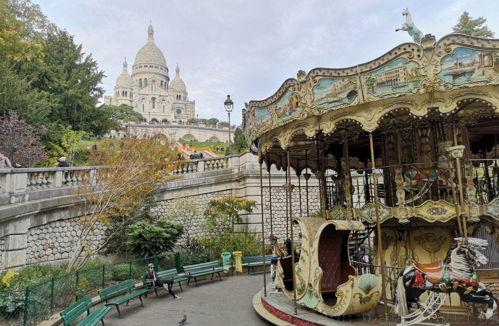 Tiovivo Montmartre Paris