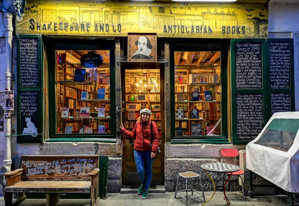 Libreria famosa Paris