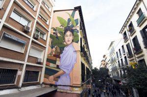 Arte urbano en Madrid: grandes murales del centro