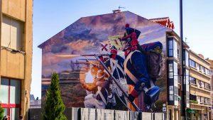 Arte urbano e historia: Ruta por los graffiti de Astorga