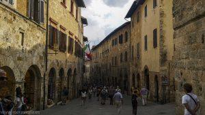 Pueblos bonitos entre Florencia y Siena