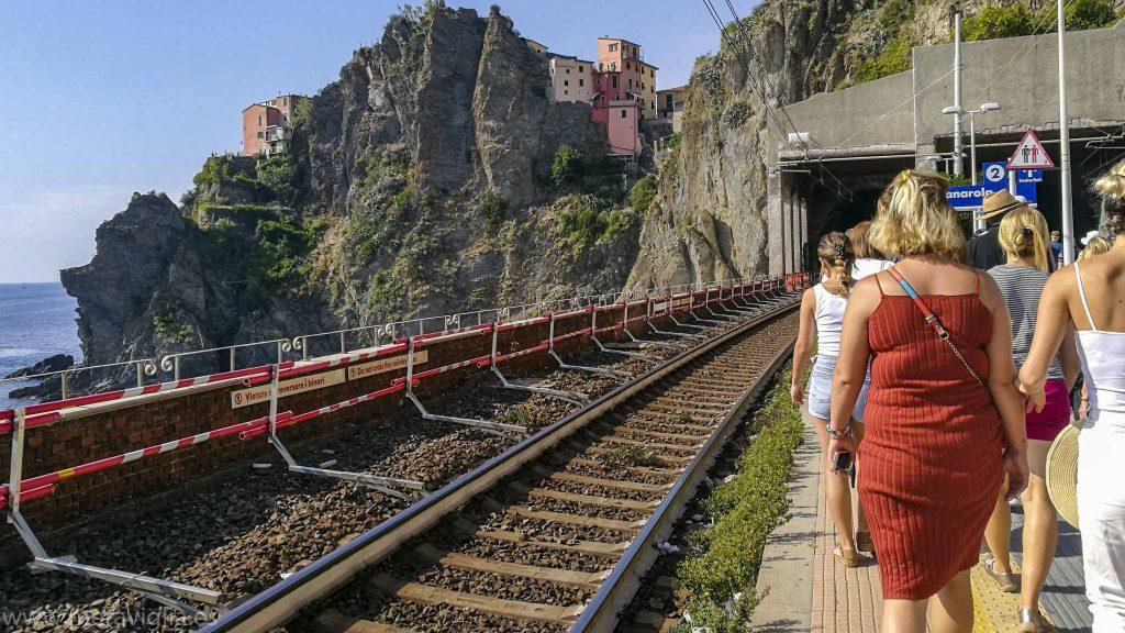 Estación en Cinque Terre