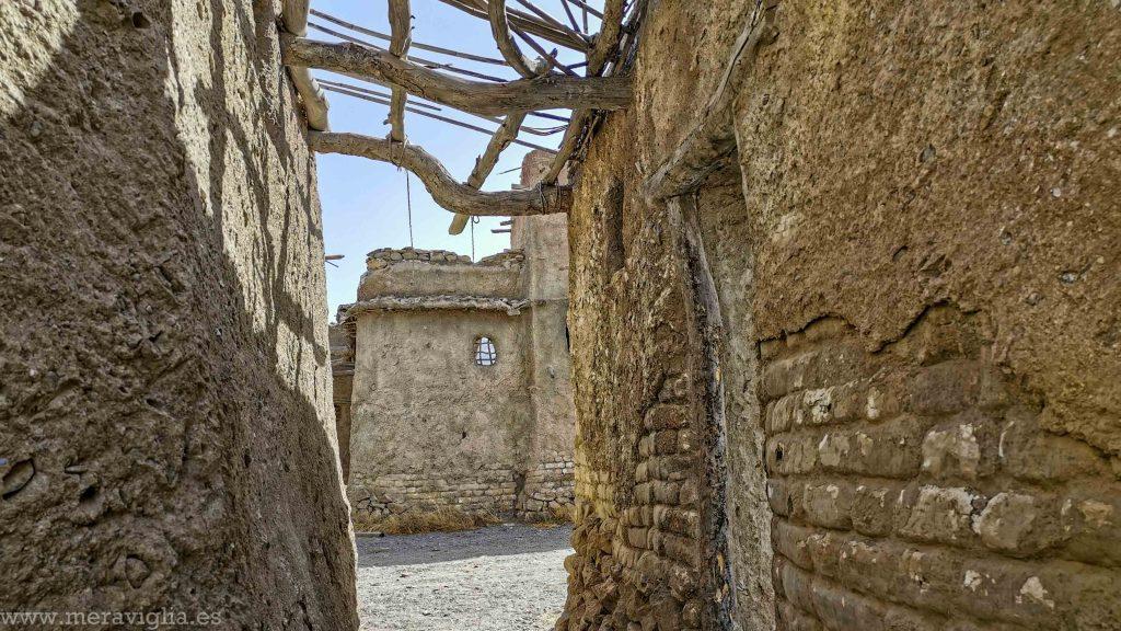 Decorado abandonado de la pelicula Exodus en Almeria
