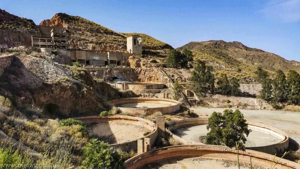 Complejo minero abandonado, Rodalquilar, Almeria