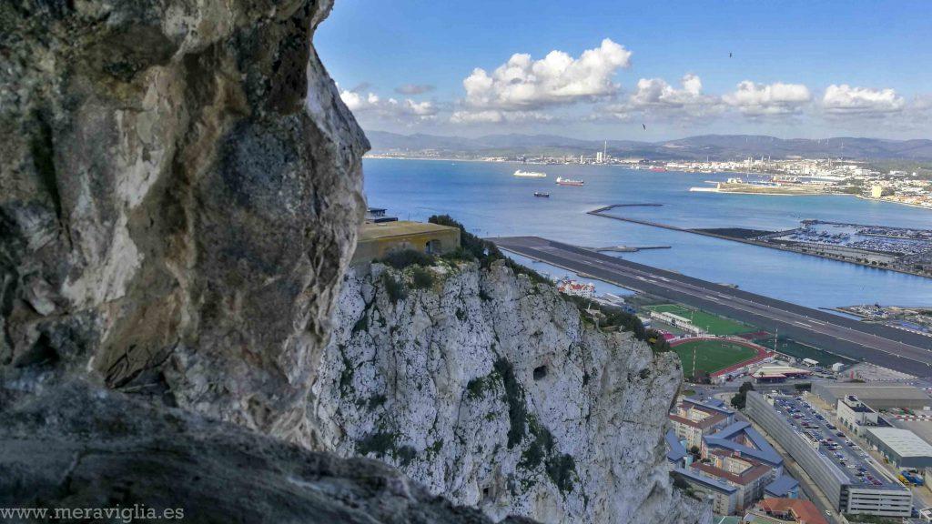 túneles del Peñón de Gibraltar