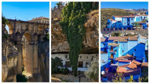 Un día en Ronda y Setenil de las Bodegas + pueblo pitufo