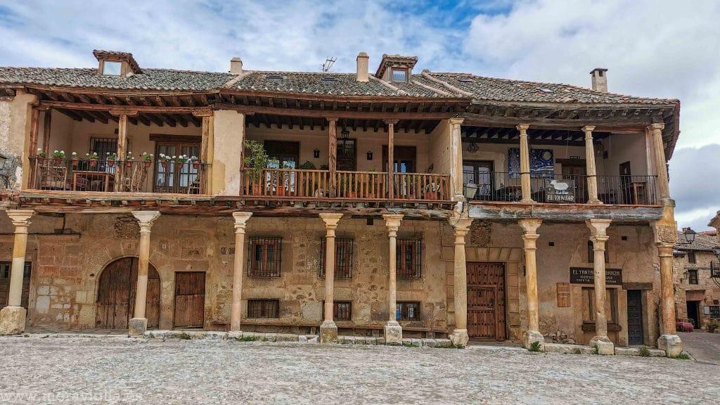 Soportales de Pedraza, Ávila