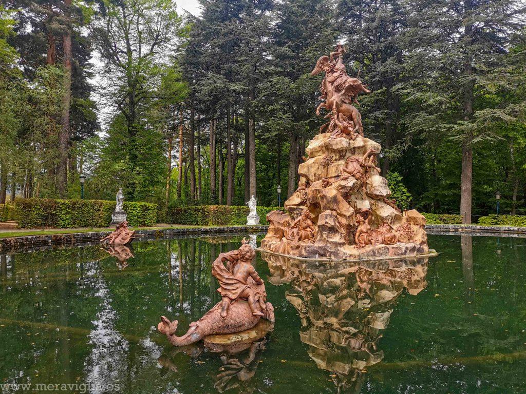 Fuente de los Jardines de la Granja de San Idelfonso