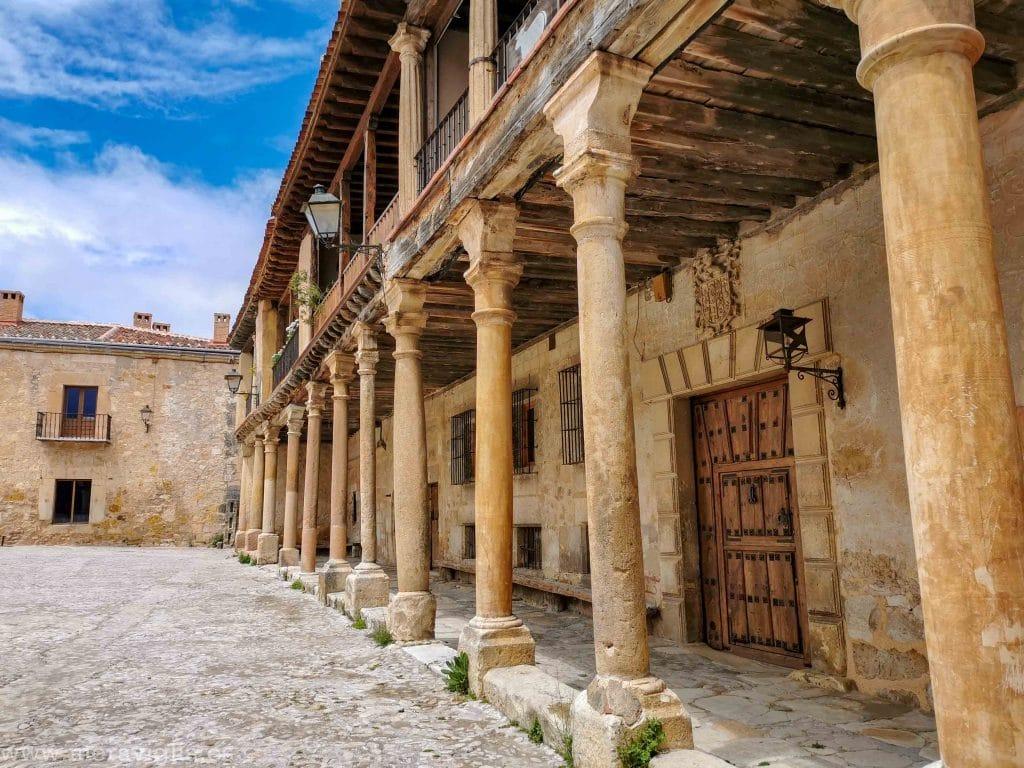 Soportales de Pedraza, Segovia