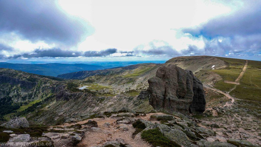 Vistas desde la cima del Pico Urbión, Soria