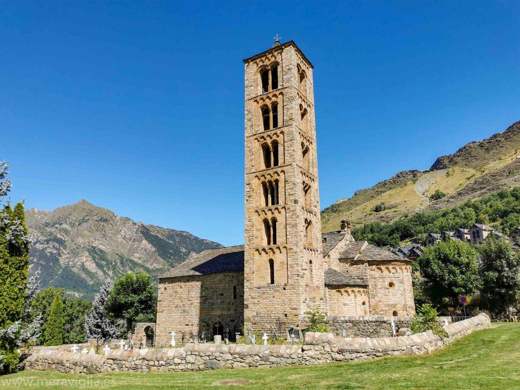 Exterior de la Iglesia de Sant Climent de Taüll, Lleida